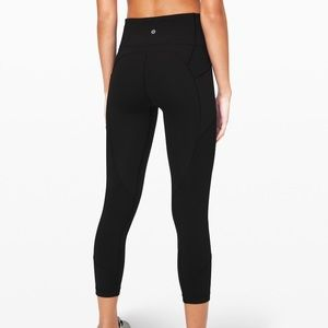 Lululemon all the right places Crop